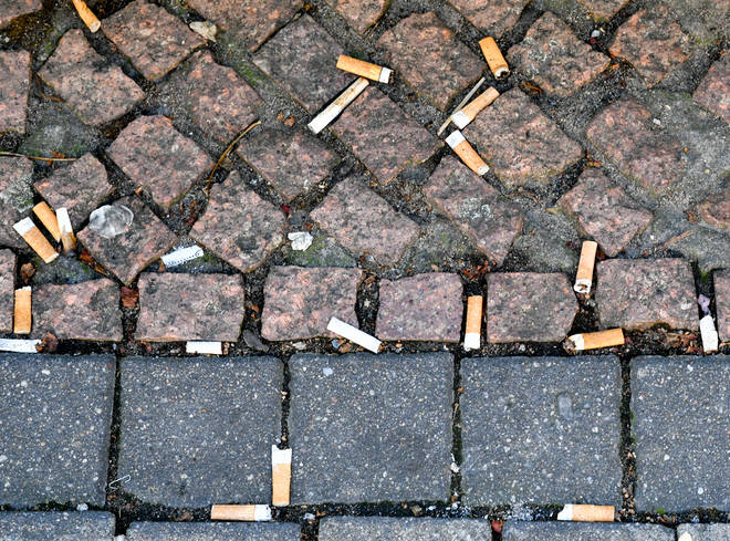 Smokers account for 14.4% of the adult population in England.