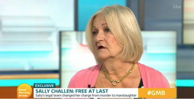 Sally Challen gave an emotional interview on Good Morning Britain
