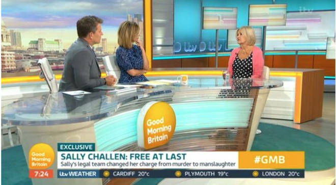 Sally Challen gave a powerful interview on Good Morning Britain