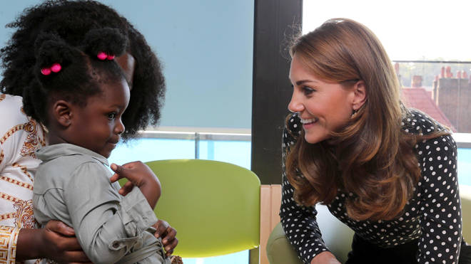Kate visited the Sunshine House Children and Young People's Health and Development Centre in London
