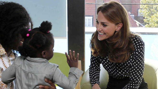 She spoke about how fast Prince George was growing up