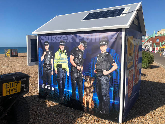 Sussex police have launched the initiative to keep people safe in Brighton
