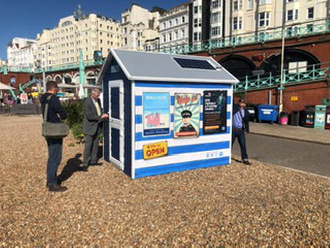 'The Lookout' will also offer safety advice at the beach