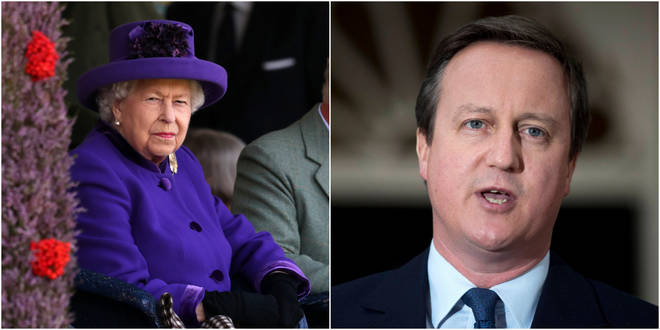 "David Cameron&squot;s suggestion caused ""an amount of displeasure"" in Buckingham Palace."