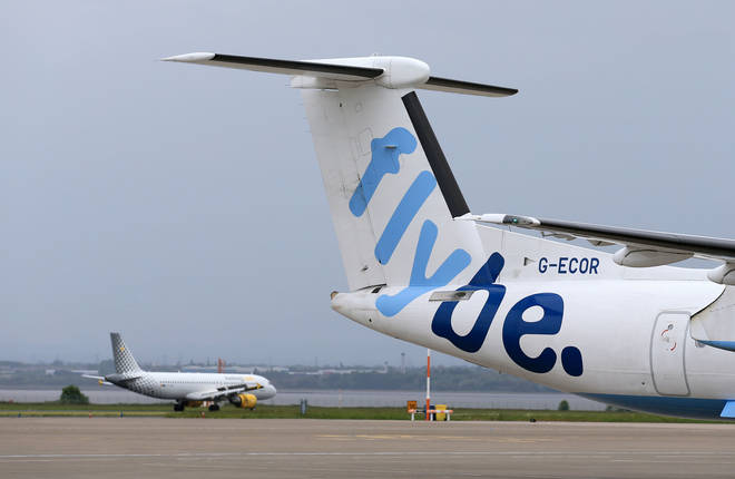 The new route is set to compete with FlyBe