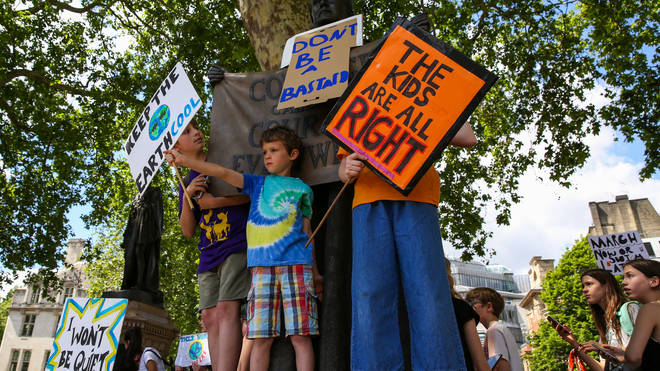 Climate change protesters will take to streets across the globe on Friday