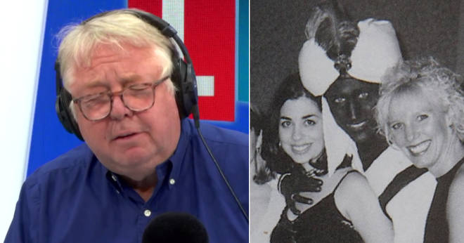 Nick Ferrari had a row with two callers over Justin Trudeau's blackface