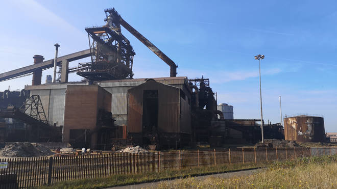 Two people died in the explosion at the former steelworks