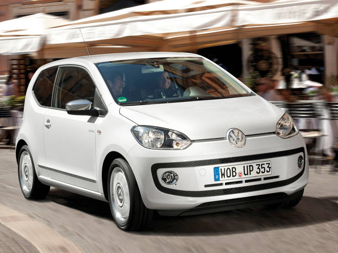The Volkswagen Up! car you could win