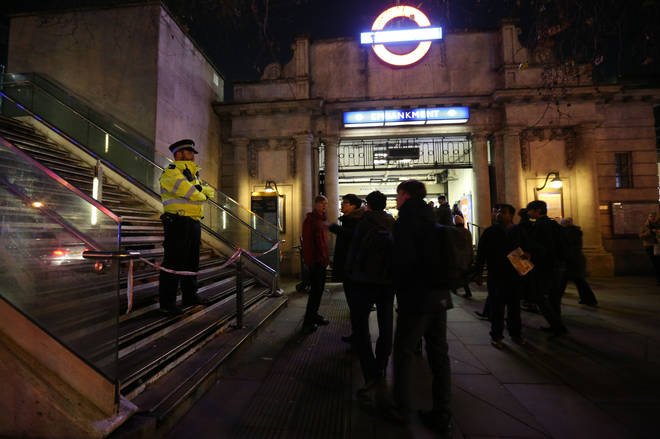 A man has admitted  'upskirting' a woman at Embankment station