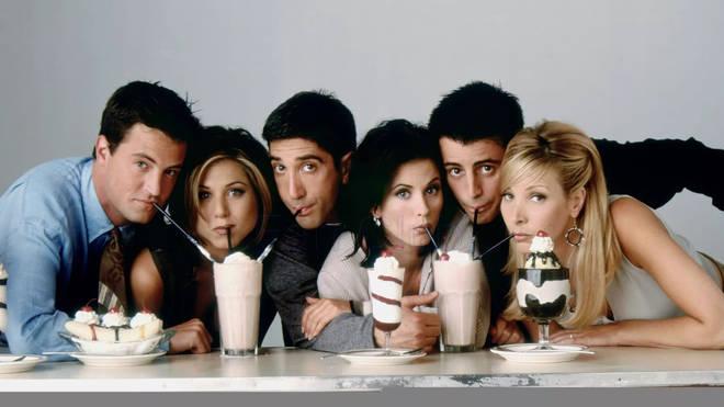 The Friends crew