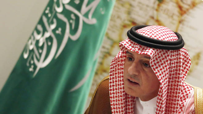 Saudi Minister of State for Foreign Affairs Adel al-Jubeir did not give details of possible actions against the perpetrators