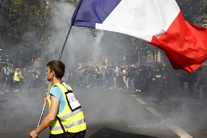 """Yellow vest"" protesters disrupted France&squot;s annual heritage weekend"