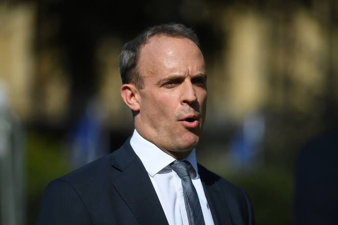 Dominic Raab reassured UK citizens they would not be left stranded