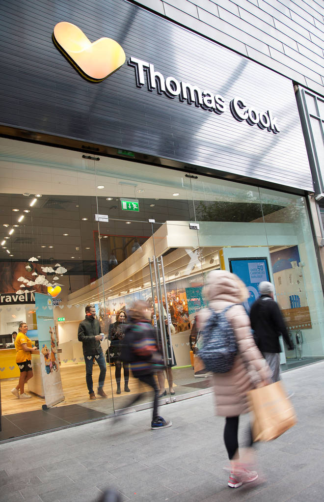 Thomas Cook has been a cornerstone of British high streets