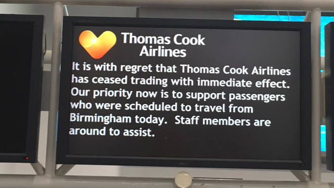 Thomas Cook has gone bust leaving over 150,000 people stranded