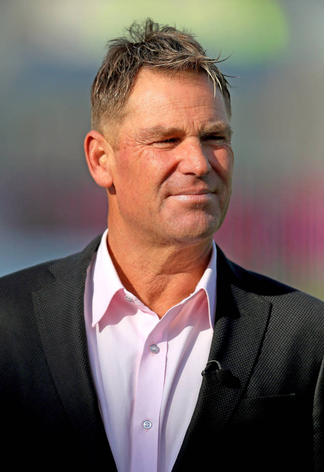 Shane Warne has been banned from driving for a year