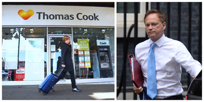 Transport Minister Explains To Nick Ferrari Why The Government Refused To Bail Out Thomas Cook