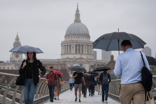 Britain is set to experience thunderstorms, hail and flooding as summer draws to a close