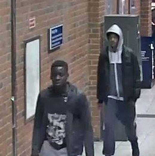 Police are searching for two men who attacked TFL staff last week