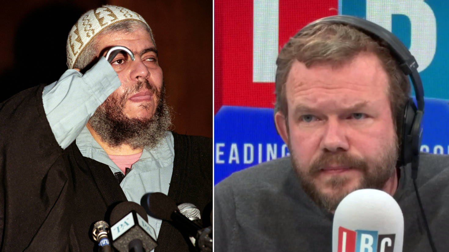 """James O'Brien's Caller Wants Brexit """"Because We Couldn't Deport Abu Hamza"""""""