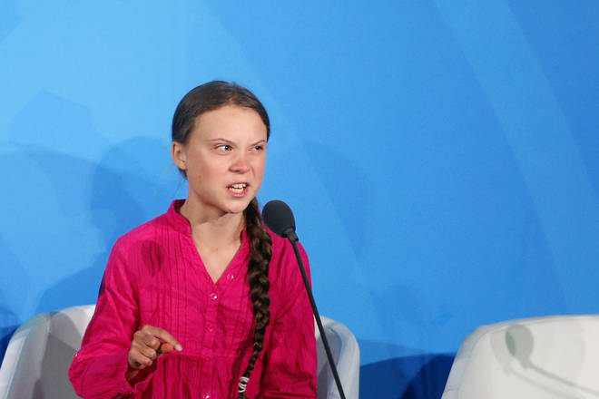 Greta Thunberg addressed the Climate Action Summit in the United Nations General Assembly