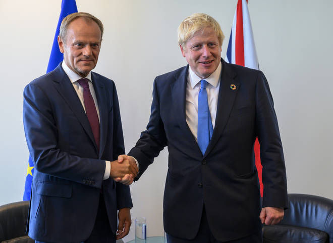 Donald Tusk and Boris Johnson met in New York to discuss Brexit