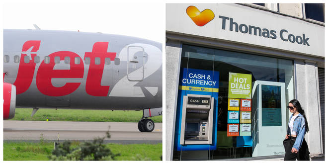 Jet2 have been accused of inflating their prices after the collapse of Thomas Cook