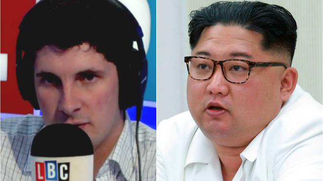 Tom Swarbrick's interview with a North Korean spokesman was remarkable