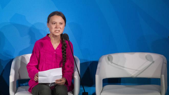 Greta Thunberg made a passionate plea at the UN