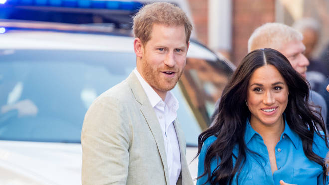 The Duke and Duchess of Sussex are in South Africa