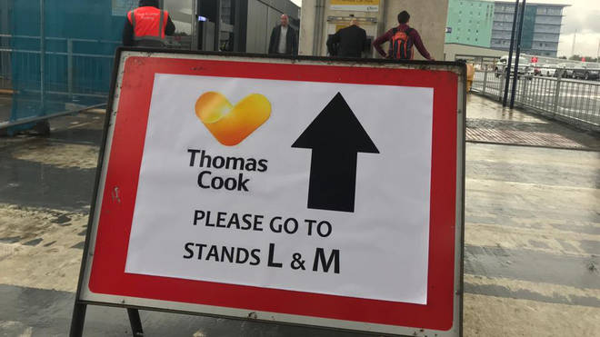 Directions for Thomas Cook customers at Manchester Airport