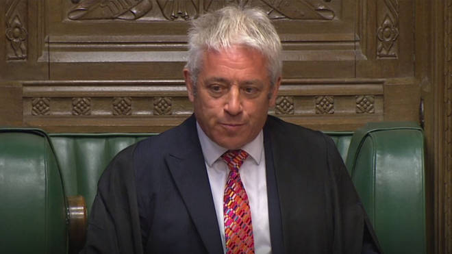 Bercow says the parliament must 'convene without delay'