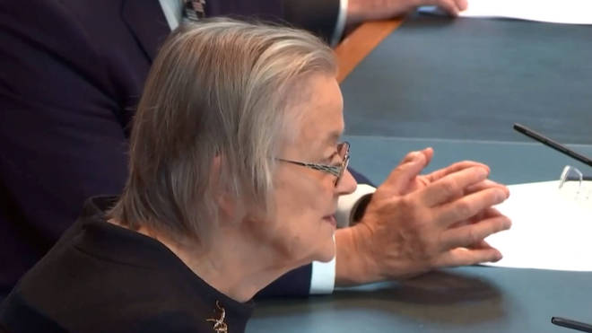 Lady Hale said the decision was agreed by all 11 justices on the panel