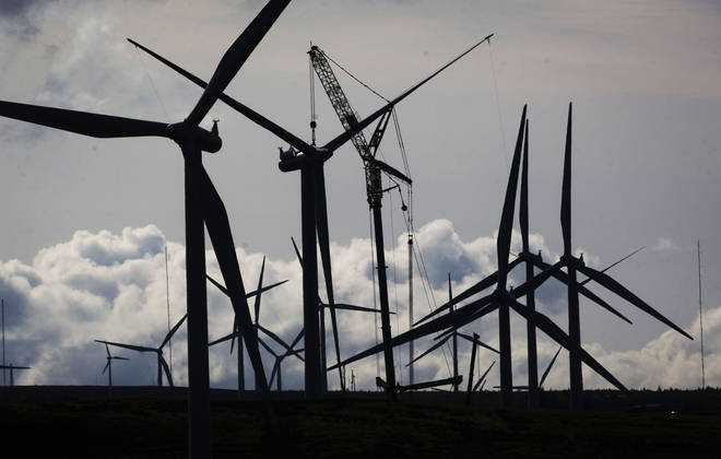 Wind farms can become the largest producer of energy in the UK, according to Labour
