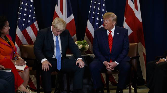 Donald Trump Rebukes Reporter For Asking If Boris Johnson Would Resign