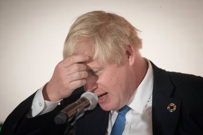 "Boris Johnson said he ""strongly disagreed"" with today&squot;s verdict"