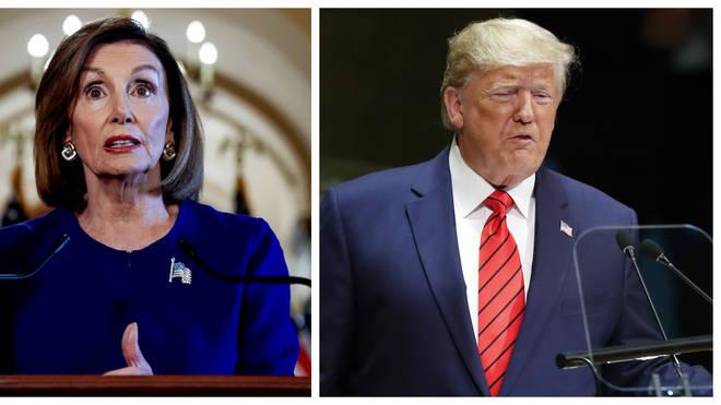 Nancy Pelosi has announced impeachment proceedings against Donald Trump