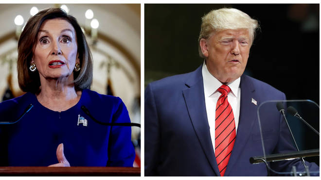 Nancy Pelosi has launched impeachment proceedings against US President Donald Trump