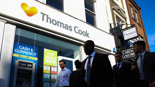 Thomas Cook collapsed on Monday