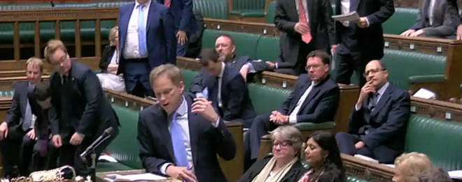 Grant Shapps made the comments in parliament today
