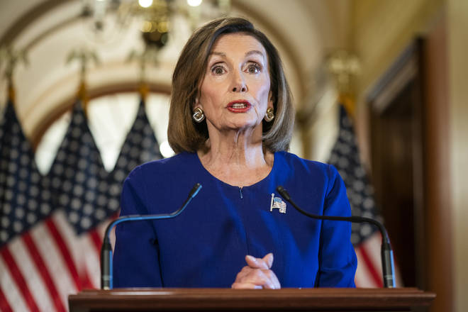 Nancy Pelosi launched a formal impeachment inquiry on Tuesday