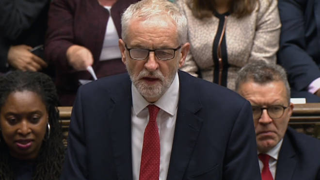 Jeremy Corbyn accused Boris Johnson of acting unlawfully