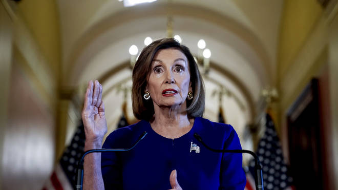 Nancy Pelosi announced impeachment proceedings were being launched yesterday