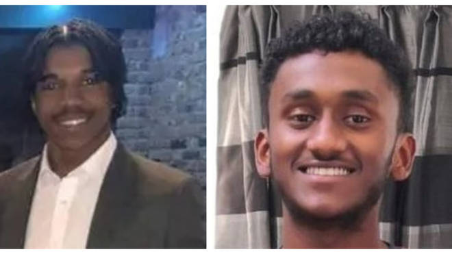 Two men who died within hours of each other in separate attacks have been named
