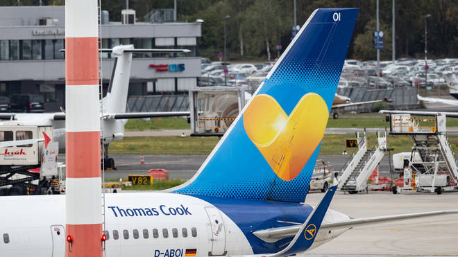 British Thomas Cook passengers are being returned to the UK