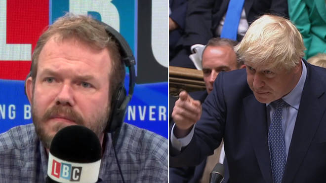 James O'Brien made some powerful points about Boris Johnson's language