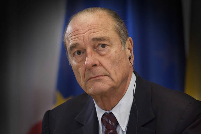 Jacques Chirac has died at the age of 86 years.