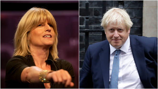 Rachel Johnson hit out at comments made by her brother