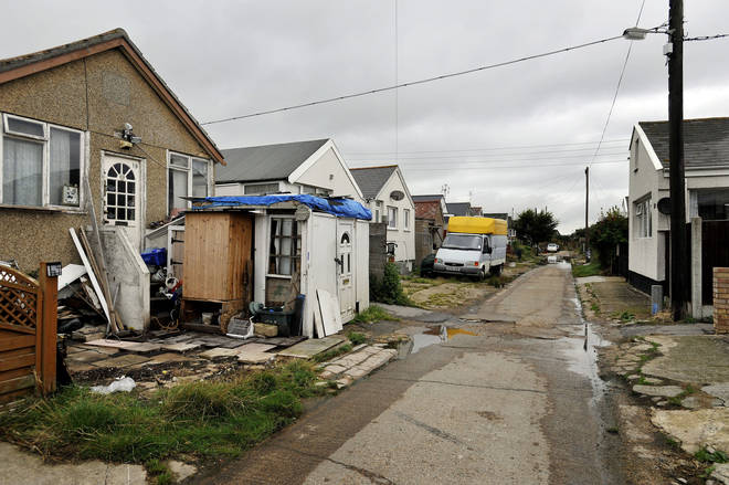 The Brooklands estate in East Jaywick, Essex has been named as the most deprived neighbourhood in England for a third time